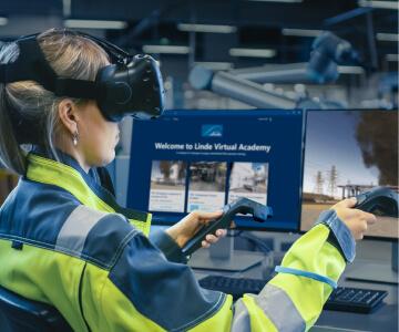 Linde firefighting VR